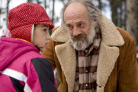 Ariel Gade and Christopher Lloyd in